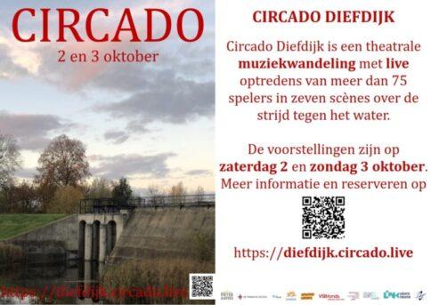 Theatrale muziekwandeling Circado Diefdijk